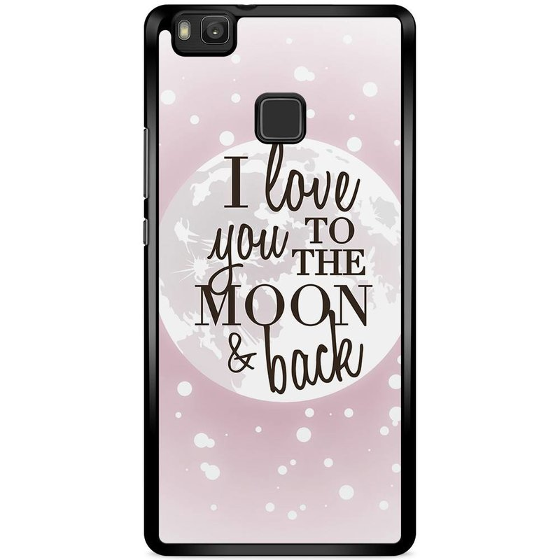 Huawei P9 Lite hoesje - I love you to the moon and back