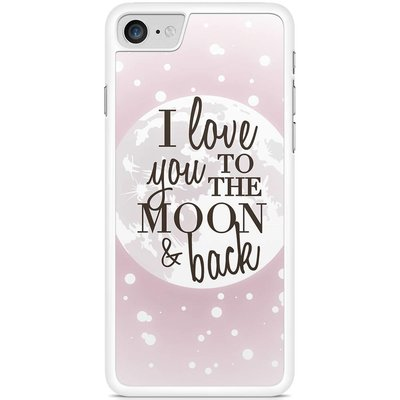 Casimoda Telefoonhoesje - I love you to the moon and back
