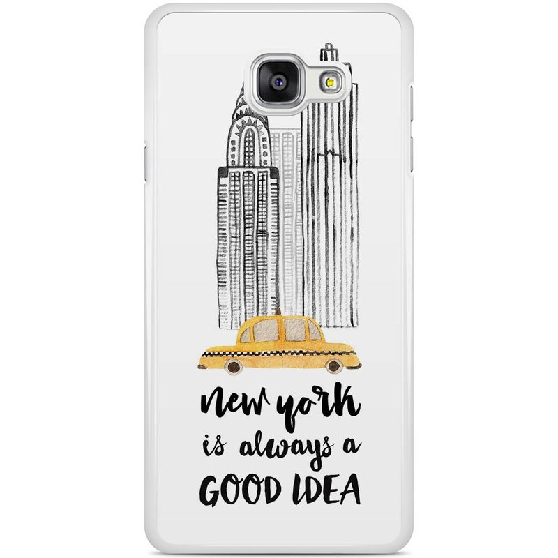 Casimoda Samsung Galaxy A5 2016 hoesje - NYC is always a good idea