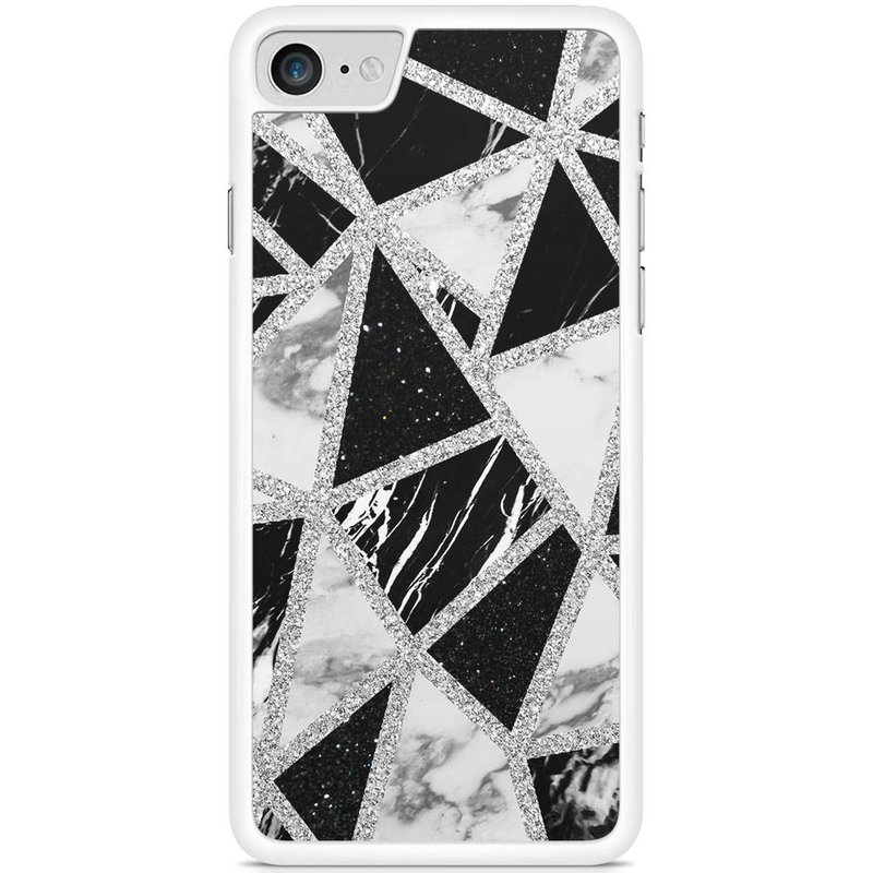hoesje - Collage mix marble