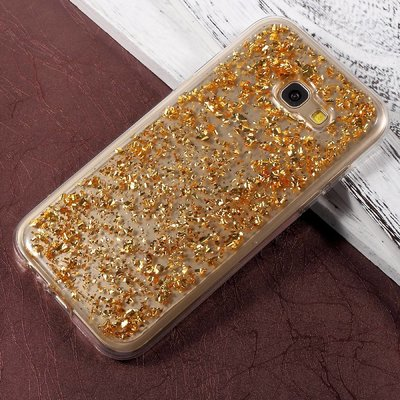 Casimoda Samsung Galaxy A5 2017 hoesje - Gouden blaadjes