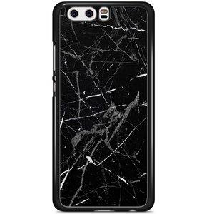 Huawei P10 hoesje - Marmer zwart