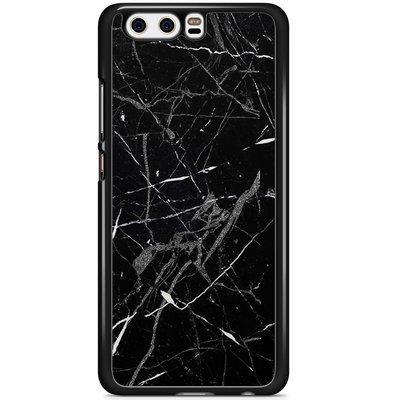 Casimoda Huawei P10 hoesje - Marmer zwart