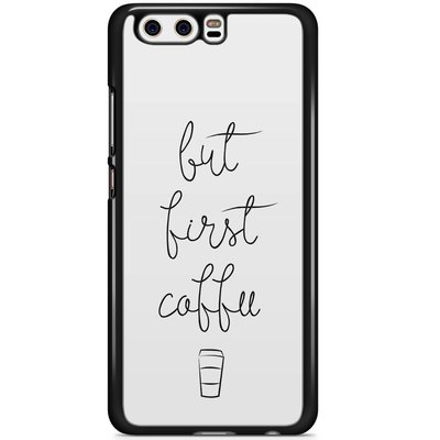 Casimoda Huawei P10 hoesje - But first coffee
