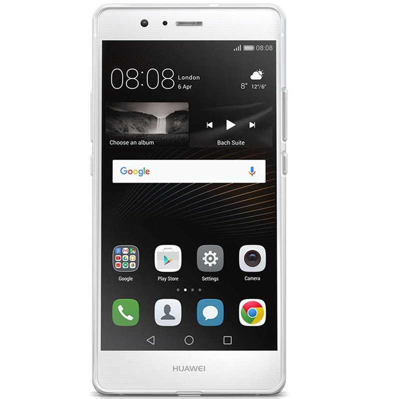 Casimoda Huawei P9 Lite transparant hoesje - Veren