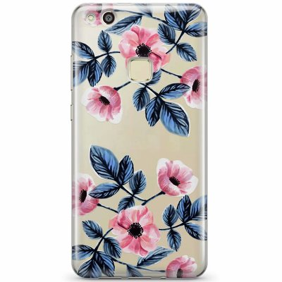 Casimoda Huawei P10 Lite transparant hoesje - Floral mood