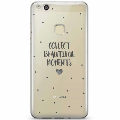 Casimoda Huawei P10 Lite transparant hoesje - Collect beautiful moments