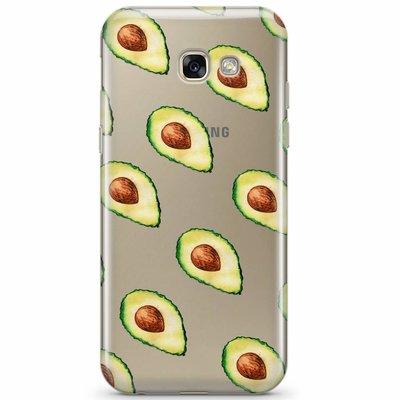 Casimoda Samsung Galaxy A5 2017 transparant hoesje - Avocado