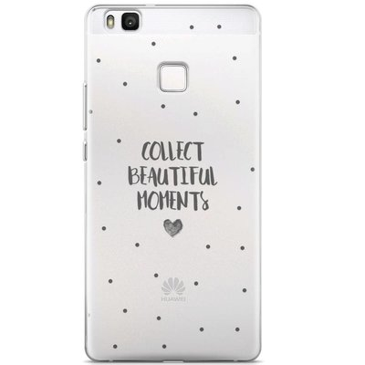 Casimoda Huawei P9 Lite transparant hoesje - Collect beautiful moments