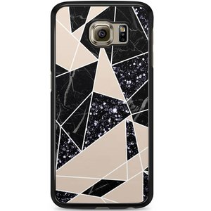 Samsung Galaxy S6 hoesje - Abstract painted