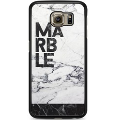 Samsung Galaxy S6 hoesje - Marble is my name