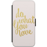iPhone 8 / 7 flipcase hoesje - Do what you love
