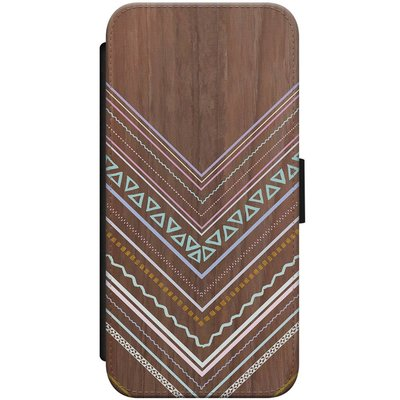 Casimoda iPhone 8 / 7 flipcase hoesje - Wooden lines