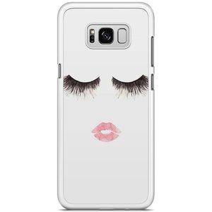 Samsung Galaxy S8 Plus hoesje - Fashion eyelashes
