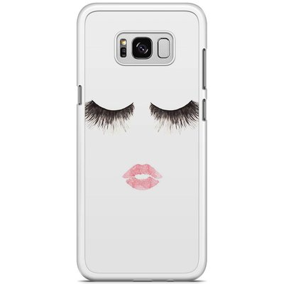 Casimoda Samsung Galaxy S8 Plus hoesje - Fashion eyelashes