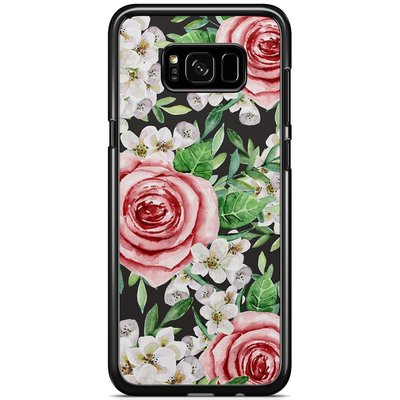Casimoda Samsung Galaxy S8 Plus hoesje - Rose story