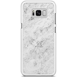 Samsung Galaxy S8 Plus hoesje - Marmer grijs