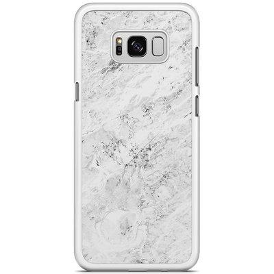 Casimoda Samsung Galaxy S8 Plus hoesje - Marmer grijs