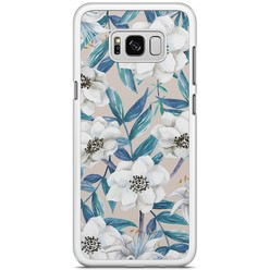 Samsung Galaxy S8 Plus hoesje - Touch of flowers