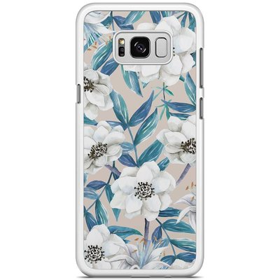 Casimoda Samsung Galaxy S8 Plus hoesje - Touch of flowers