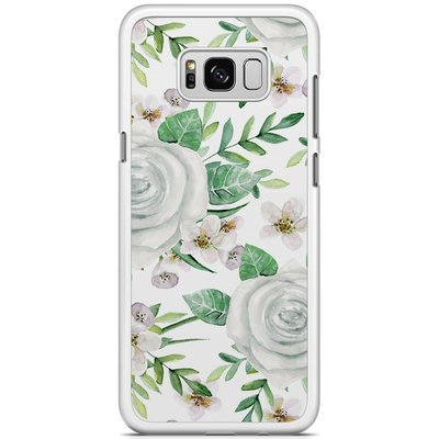 Casimoda Samsung Galaxy S8 Plus hoesje - lovely flora