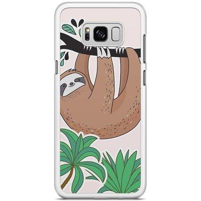 Casimoda Samsung Galaxy S8 Plus hoesje - Luiaard