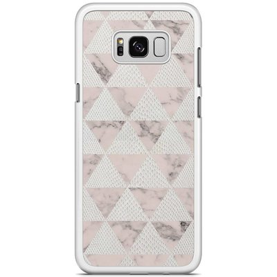 Casimoda Samsung Galaxy S8 Plus hoesje - Triangle snake