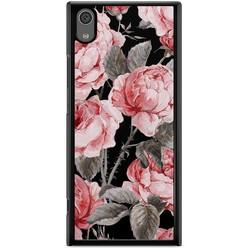 Sony Xperia XA1 hoesje - Moody florals