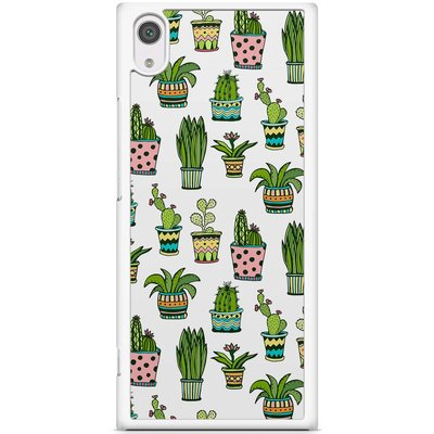 Casimoda Sony Xperia XA1 hoesje - Cactussen