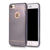 iPhone 8/7 siliconen hoesje - Grijs