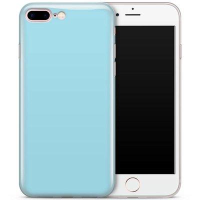 Casimoda iPhone 7 Plus / iPhone 8 Plus siliconen hoesje - blauw