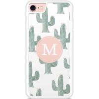 Casimoda Telefoonhoesje met letter - Cactus