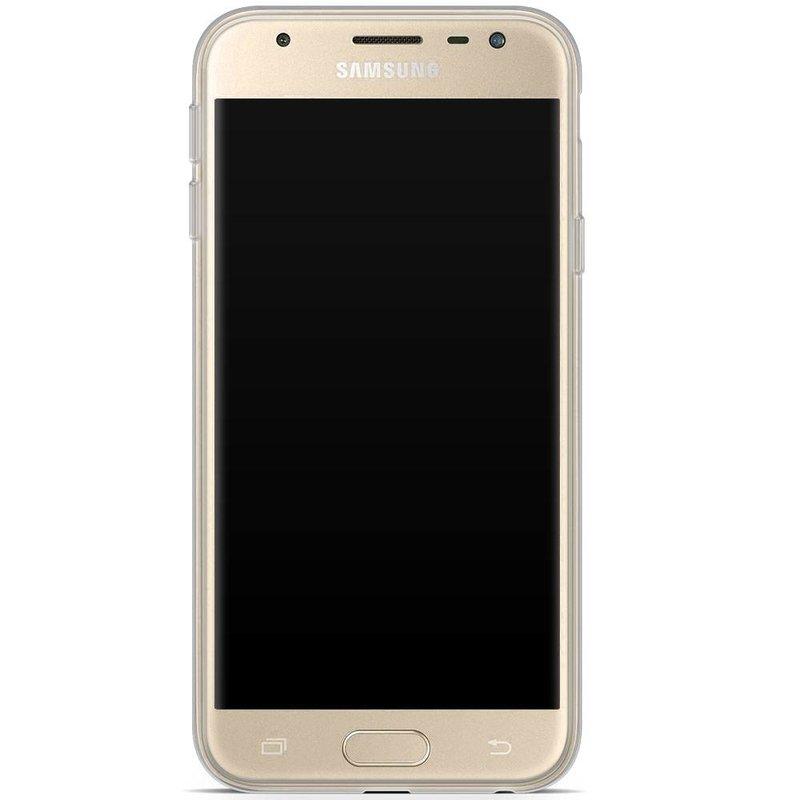 Samsung Galaxy J3 2017 siliconen hoesje - Badass babe (blondine)