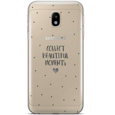Casimoda Samsung Galaxy J5 2017 siliconen hoesje - Collect beautiful moments