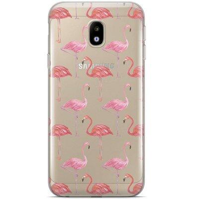 Casimoda Samsung Galaxy J5 2017 siliconen hoesje - Flamingo