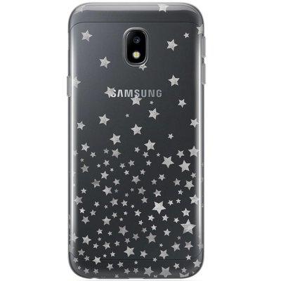 Casimoda Samsung Galaxy J5 2017 siliconen hoesje - Falling stars