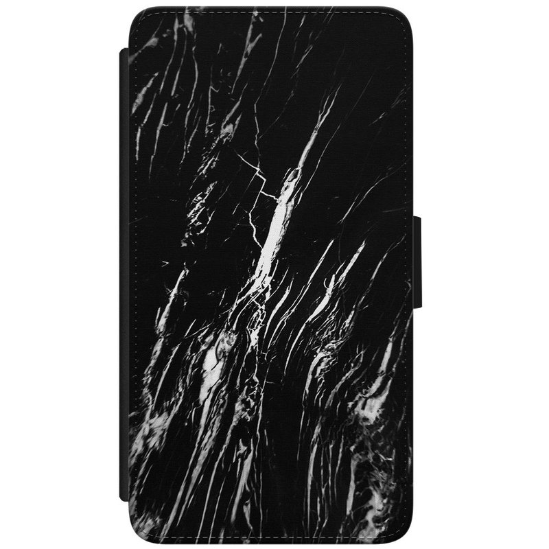 Casimoda Samsung Galaxy S7 flipcase hoesje - Marmer zwart