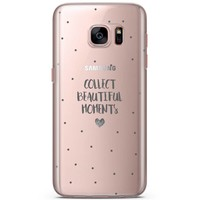 Samsung Galaxy S7 siliconen hoesje - Collect beautiful moments