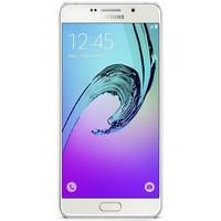 Samsung Galaxy A3 2016 hoesje - Geo blocks on wood