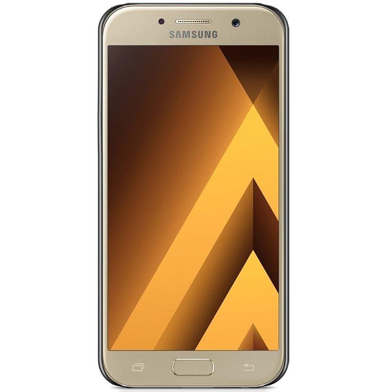 Samsung Galaxy A5 2017 hoesje - Marmer zwart
