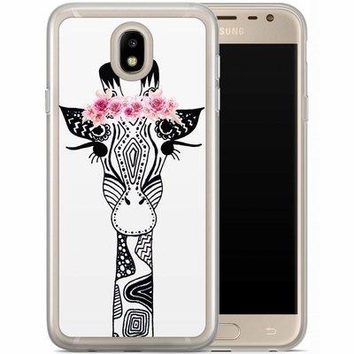Casimoda Samsung Galaxy J7 2017 siliconen hoesje - Giraffe