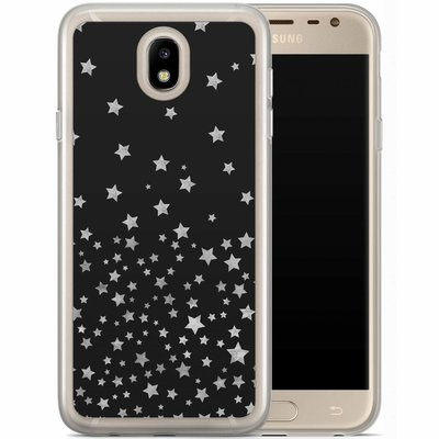 Casimoda Samsung Galaxy J7 2017 siliconen hoesje - Falling stars