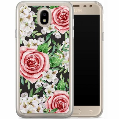Casimoda Samsung Galaxy J7 2017 siliconen hoesje - Rose story