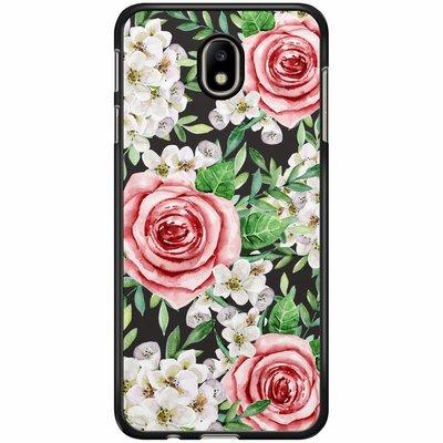 Casimoda Samsung Galaxy J3 2017 hoesje - Rose story
