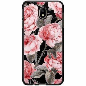 Samsung Galaxy J3 2017 hoesje - Moody florals
