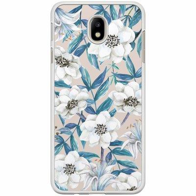 Casimoda Samsung Galaxy J3 2017 hoesje - Touch of flowers