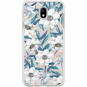 Samsung Galaxy J7 2017 hoesje - Touch of flowers