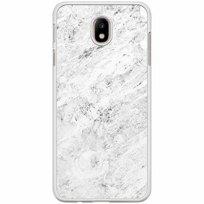 Casimoda Samsung Galaxy J7 2017 hoesje - Marmer grijs