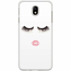 Samsung Galaxy J7 2017 hoesje - Fashion eyelashes