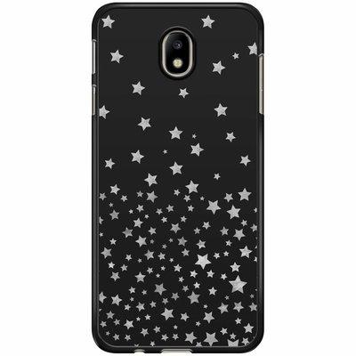 Casimoda Samsung Galaxy J7 2017 hoesje - Falling stars